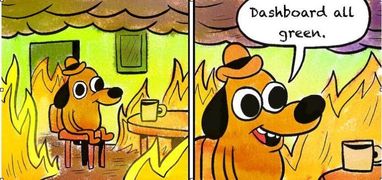 test leadership dashboard